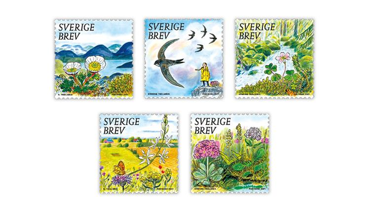 sweden-2021-precious-nature-stamps