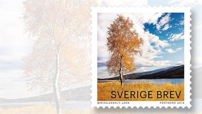 sweden-autumn-glow-stamp