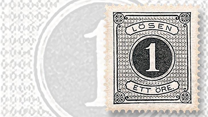 sweden-first-postage-due-stamp