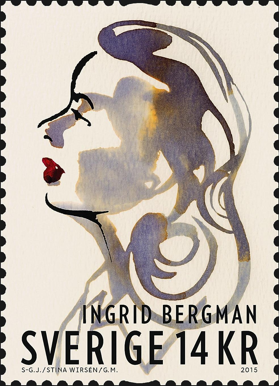 sweden-ingrid-bergman-second-joint-issue-stamp-2015