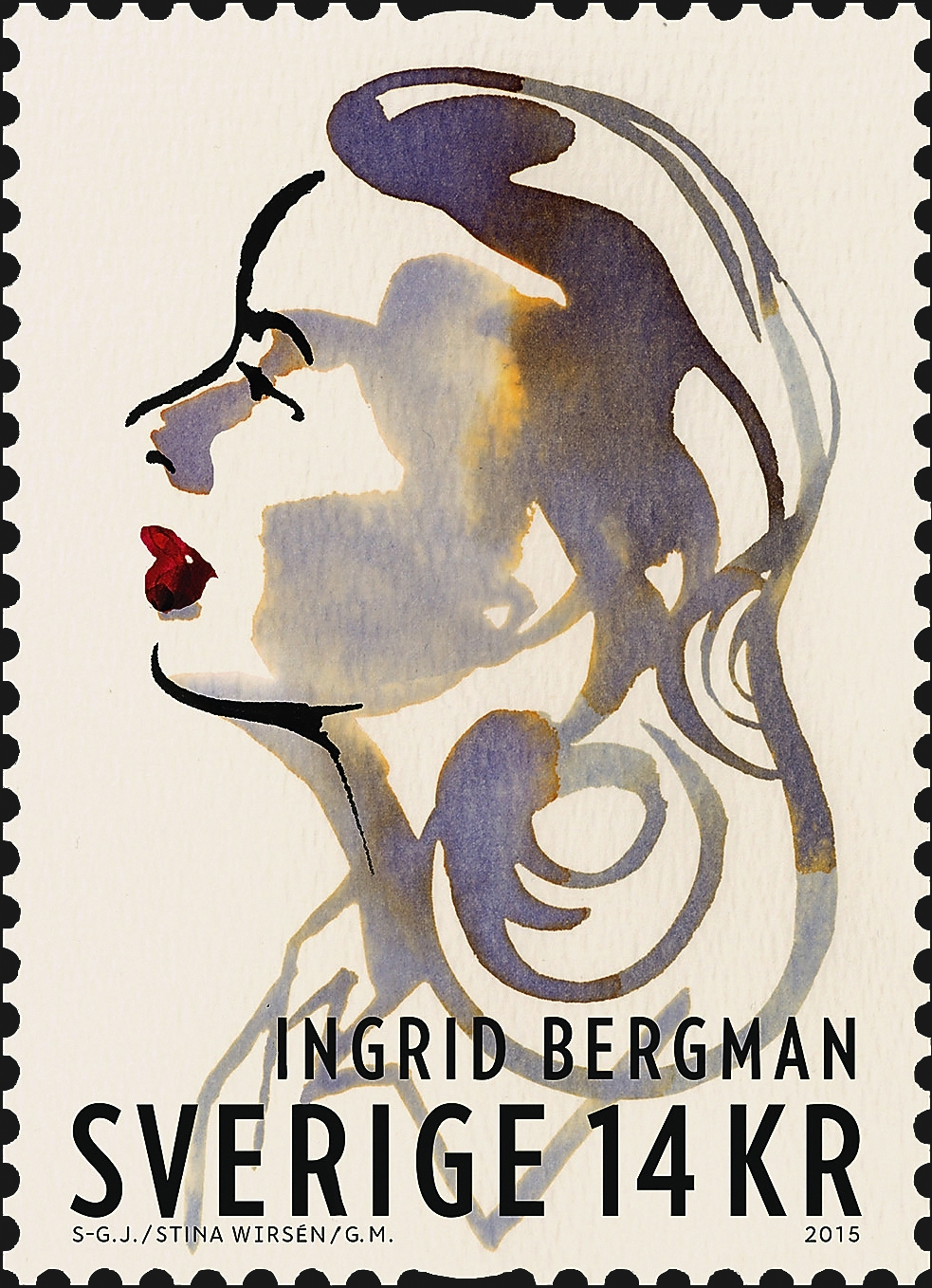 sweden-ingrid-bergman-second-joint-issue-stamp-2015