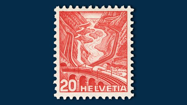 swiss-definitive-stamp