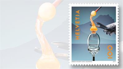 swiss-post-glass-craftsmanship-stamp
