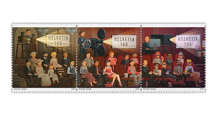 switzerland-2020-cinema-stamps-asiago-philatelic-art