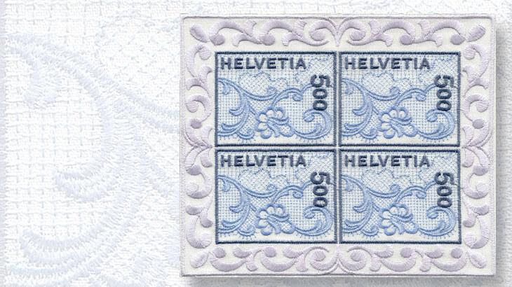 switzerland-first-embroidered-stamp