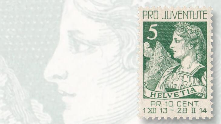 switzerland-first-pro-juventute-stamp