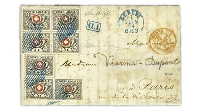 switzerland-geneva-1854-cover-cross-and-post-horn-blocks