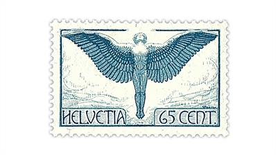 switzerland-grilled-gum-airmail-stamp