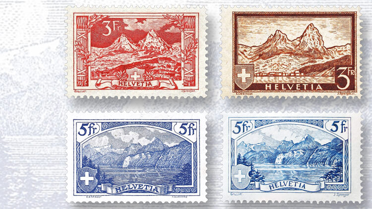switzerland-mythen-stamps