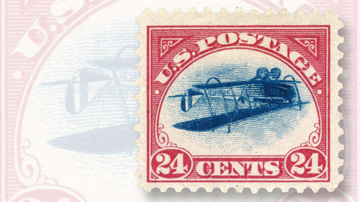 sybil-fitzgerald-inverted-jenny-airmail-stamp