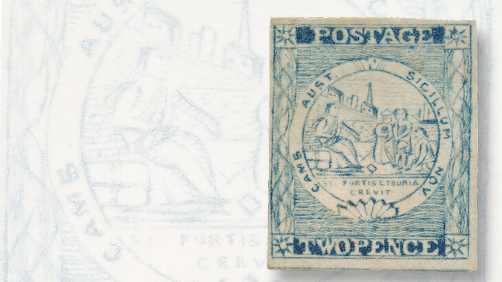 sydney-views-two-penny-stamp-plate-four