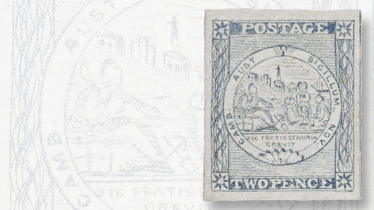 sydney-views-two-penny-stamp-plate-three