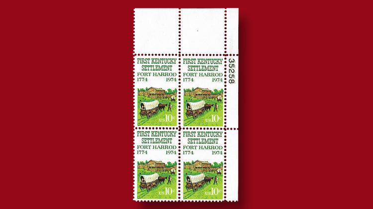 ten-cent-kentucky-settlement-two-hundreth-anniversary-stamp