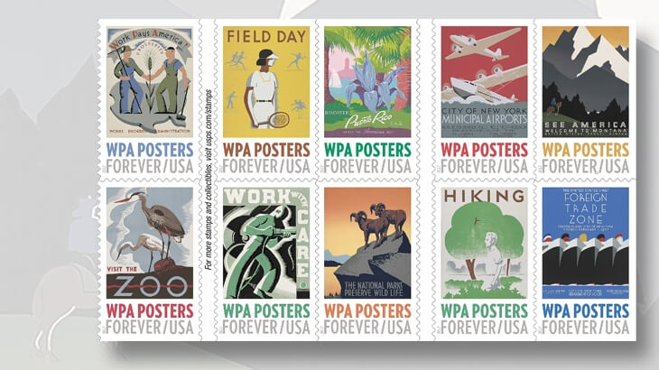 ten-stamps-displaying-posters-and-artwork-1935-43-work-projects-administration