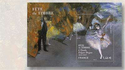 the-star-french-souvenir-sheet