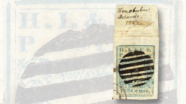 thirteen-cent-blue-hawaiian-stamp