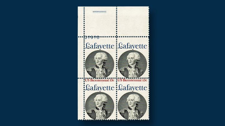 thirteen-cent-lafayette-stamp