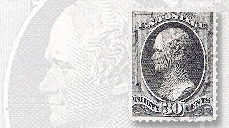 thirty-cent-hamilton-banknote-stamp-h-grill