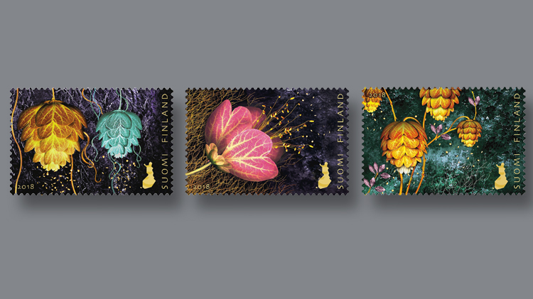 three-finland-finnish-light-of-friendship-stamps