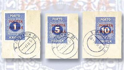 three-scarce-high-denomination-austrian-postage