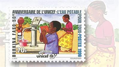 tip-of-the-week-burkina-faso-1996-unicef-anniversary-set