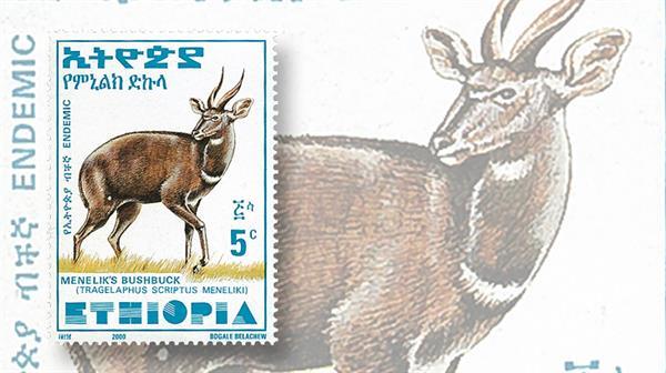 tip-of-the-week-ethiopa-menelik-bushbuck-set-2000