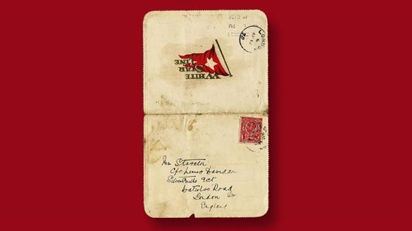 titanic-letter-card