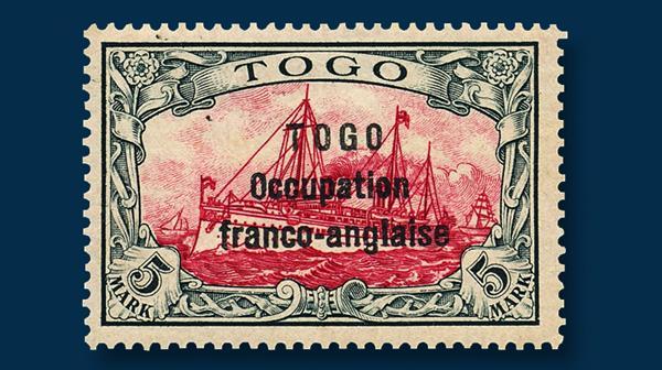 togo-5-mark-stamp