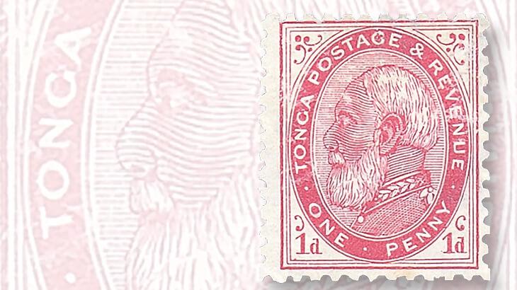 tonga-first-stamp