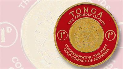 tonga-foil-embossed-coin-like-stamp-of-1963