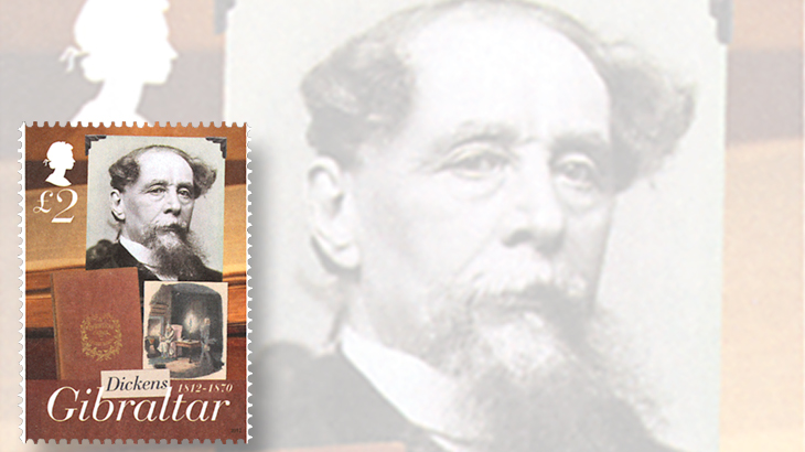 topics-on-stamps-charles-dickens-a-christmas-carol-gibraltar-marleys-ghost
