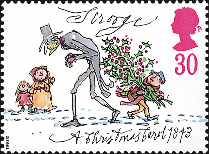 topics-on-stamps-charles-dickens-a-christmas-carol-great-britian-scrooge