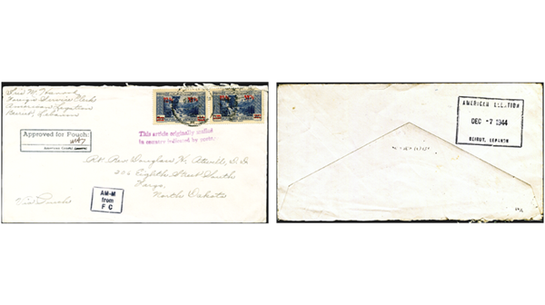 transatlantic-diplomatic-pouch-cover-lebanon-washington-north-dakota-1944