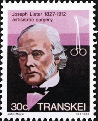 transkei-joseph-lister-hemostat-surgery-stamp-1982