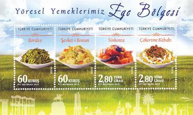 turkey-cuisine-miniature-sheet