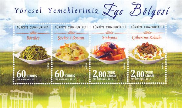 turkey-cuisine-miniature-sheet
