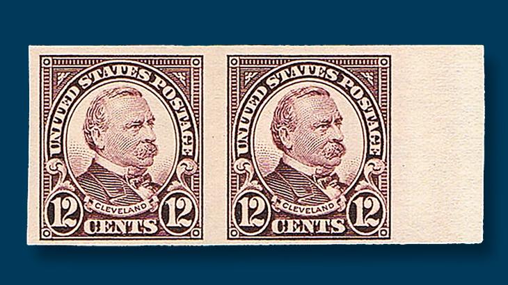 twelve-cent-grover-cleveland-imperf-margin