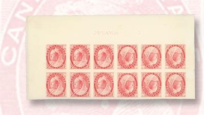 twelve-two-cent-queen-victoria-stamps