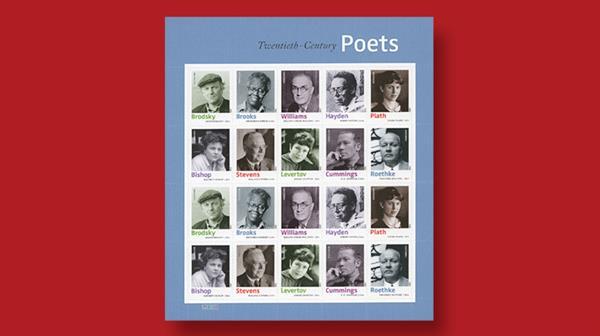 twentieth-century-poets-forever-stamps