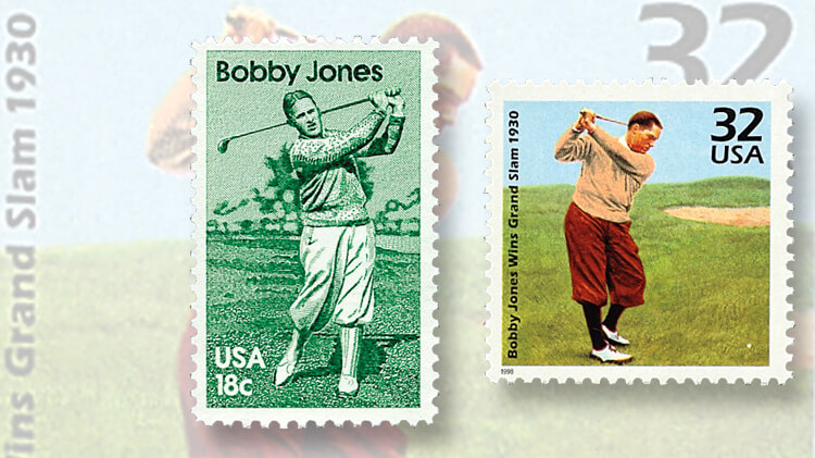 two-bobby-jones-us-stamps