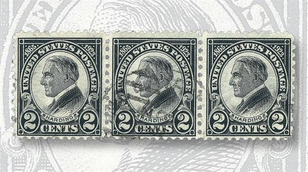 two-cent-black-harding-stamp