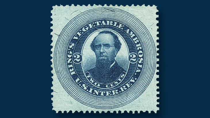 two-cent-blue-ring-vegetable-ambrosia-stamp