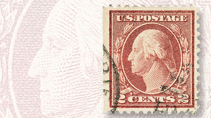 two-cent-washington-franklin-stamp-lake-shade