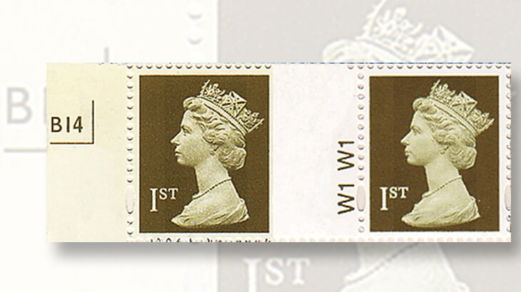 two-gold-machin-definitive-stamps