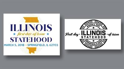 two-illinois-pictorial-postmarks