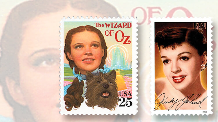 two-judy-garland-us-stamps