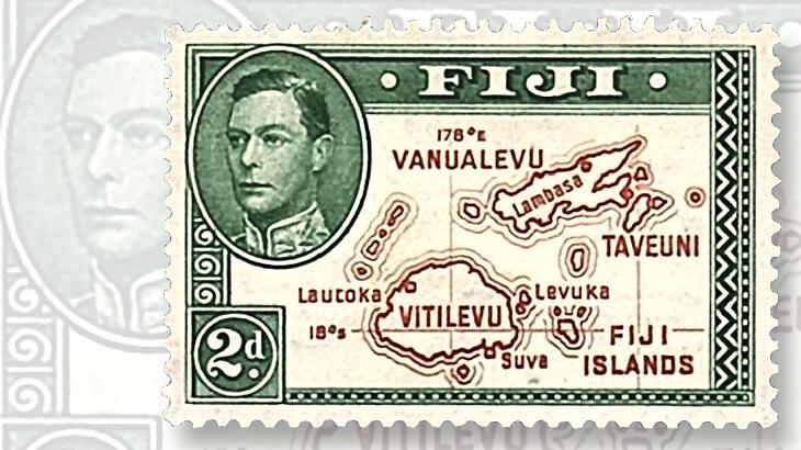 Fiji definitive stamp