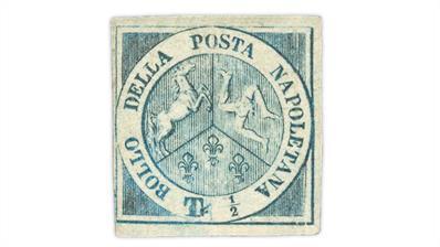 two-sicilies-1860-heraldic-symbols-stamp