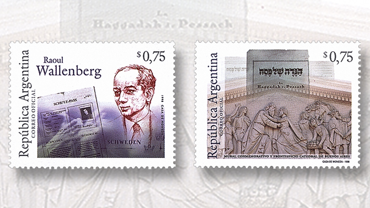 two-stamps-from-argentina-tribute-raoul-wallenberg-hero-of-holocaust