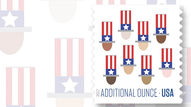 uncle-sam-hat-additional-ounce-rate-stamp